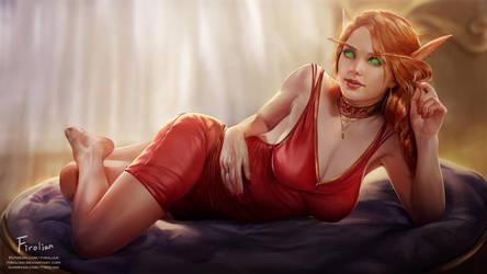 Lady Liadrin by Firolian