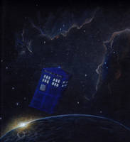 The TARDIS, the Universe and Everything by Feliks-Grell