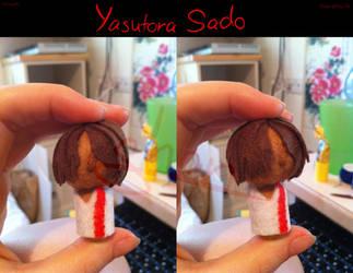 Sado Yasutora Charm by Shaneroma