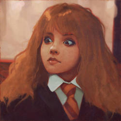 Hermione by viktorow