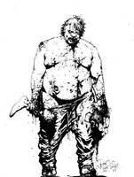 freemen fat guy by SABOGSINTIDO