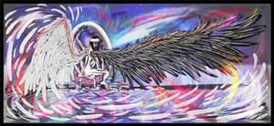 digital : Winged 2 2013 by darshan2good