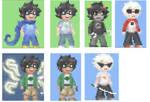 HS - pixel sprites by ChibiEdo