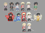 HS Lost Chums - character sprites by ChibiEdo
