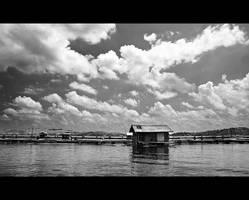 fishing village by Aerobozt