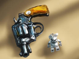 Paper weight and Trooper by devchitap