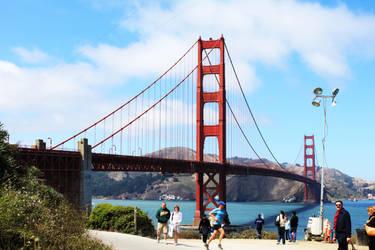 Golden Gate View by BioshockMari