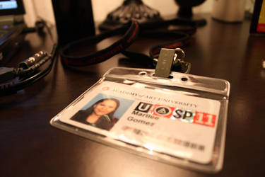My AAU ID by BioshockMari