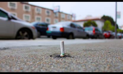 Cigarette by BioshockMari