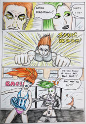 Kate Five vs Symbiote comic Page 165 by cyberkitten01