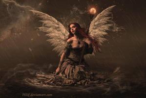Stormy nigth by HILIF