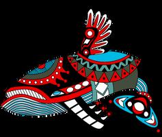 Windfish Haida Tattoo by Songficcer