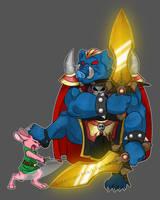 Epic Battle: Link vs Ganon by Songficcer