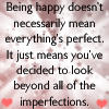 Bein happy doesnt mean perfect by Songficcer