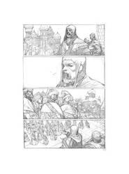 Alexander Nevsky Comic by MGuevara