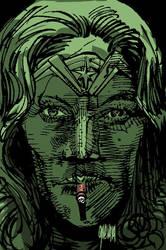 Wonderwoman by MGuevara