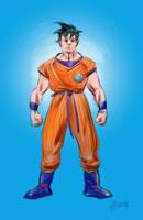 Goku-Dragon Ball by MGuevara