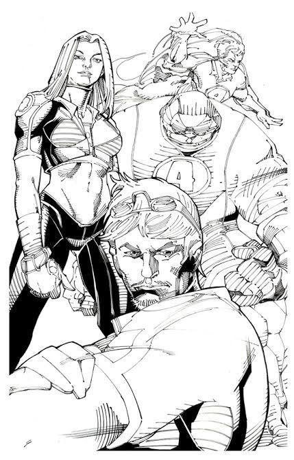 Ultimate Fantastic Four by MGuevara