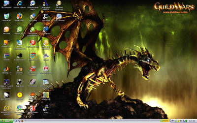 My Current Desktop by SDragon029
