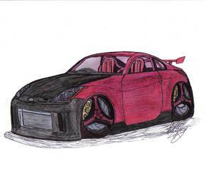 Leetghostdriver's 350Z by Mister-Lou