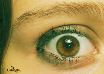 My eye is high. by Lintu-Dot
