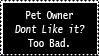 Pet Owner by GingaLegendLion