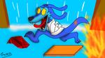 Ripper Roo (Crash Bandicoot) by GatoRosa