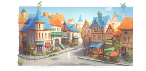 Portia Street by PatheaGames