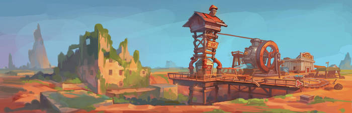 Desert by PatheaGames