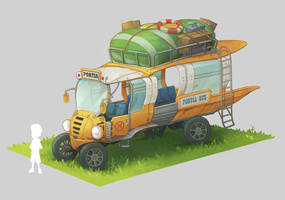 Portia Bus by PatheaGames