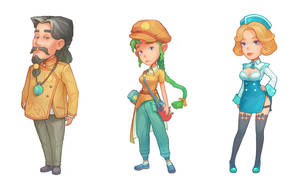 More NPC Characters by PatheaGames