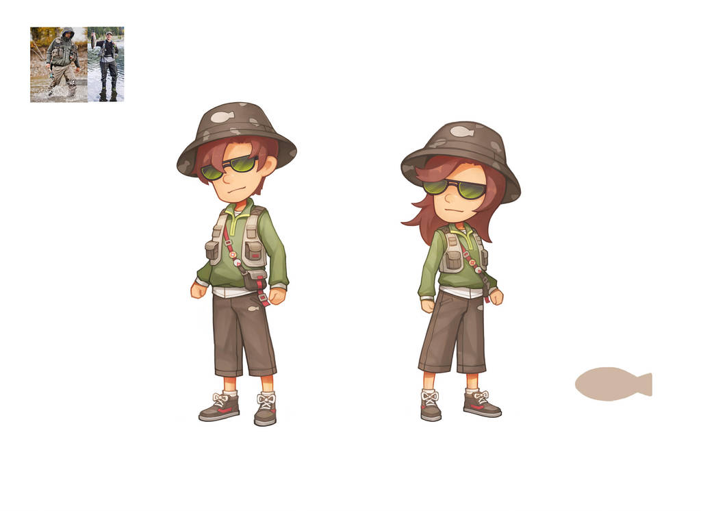Clothes in My Time At Portia 3 by PatheaGames