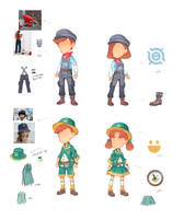 Clothes in My Time At Portia 7 by PatheaGames