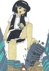 Rem Smash-a-rama by MasterOfRa
