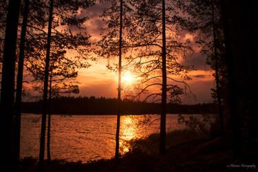Golden horizon by Floreina-Photography