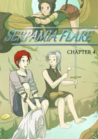 Serpamia Flare - Chapter Four Cover Art by rufiangel