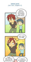 The Lethian 3-koma - Simon Says by rufiangel