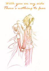 Asurayuu - With You On My Side (colored) by VermillionFenrir