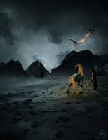 Dark rider by svblackvicky