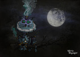 Alice in Steamland: Cheshire C by Van-Oost