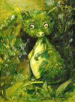 Moss Dragon2 by cydienne