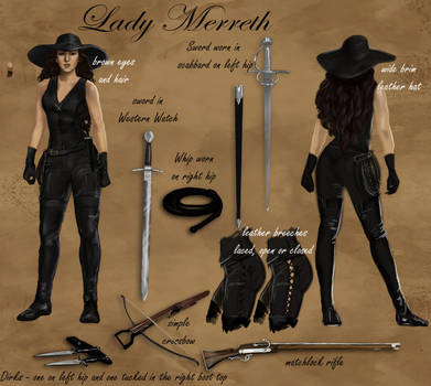 Lady Merreh Character Reference by LadyMerrethsAuthor