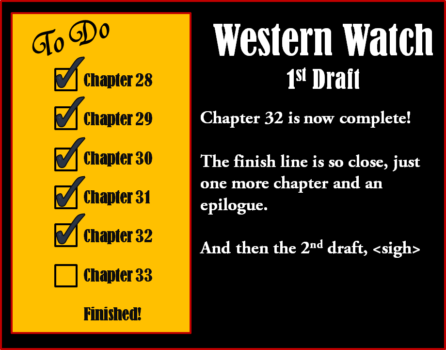 Chapter 32 is done! by LadyMerrethsAuthor