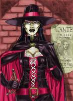 Bounty Huntress By Yacermino by LadyMerrethsAuthor