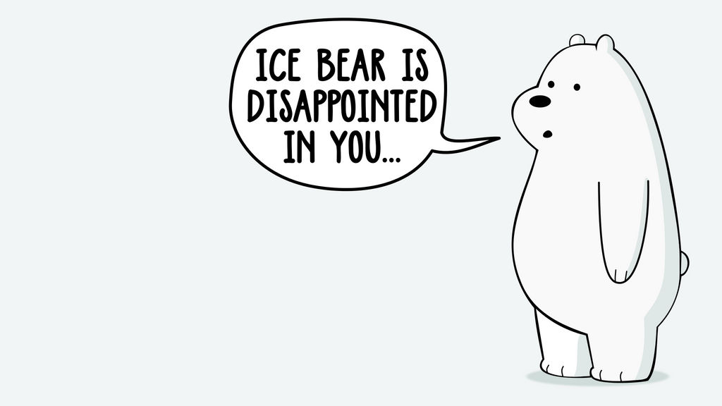Ice Bear Wallpaper By Mawscm On Deviantart