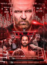 Dean Ambrose vs Seth Rollins by AdeelAnjum