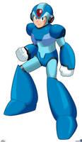 MegaMan X Doodle by Gregarlink10