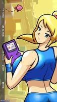 Samus and the Game Boy by Gregarlink10