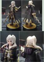 Custom Female Robin amiibo by Gregarlink10
