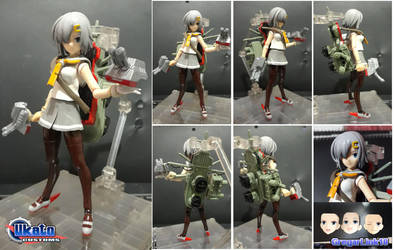 Figma Hamakaze custom figure by Gregarlink10